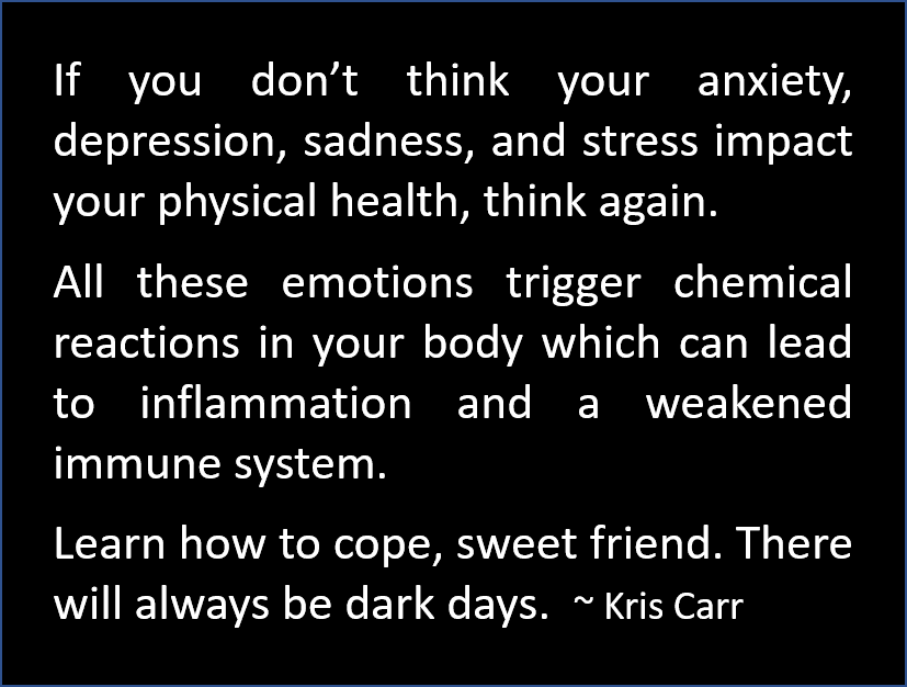 Kris Carr - Learn How to Cope