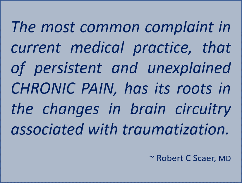 Scaer -Chronic Pain