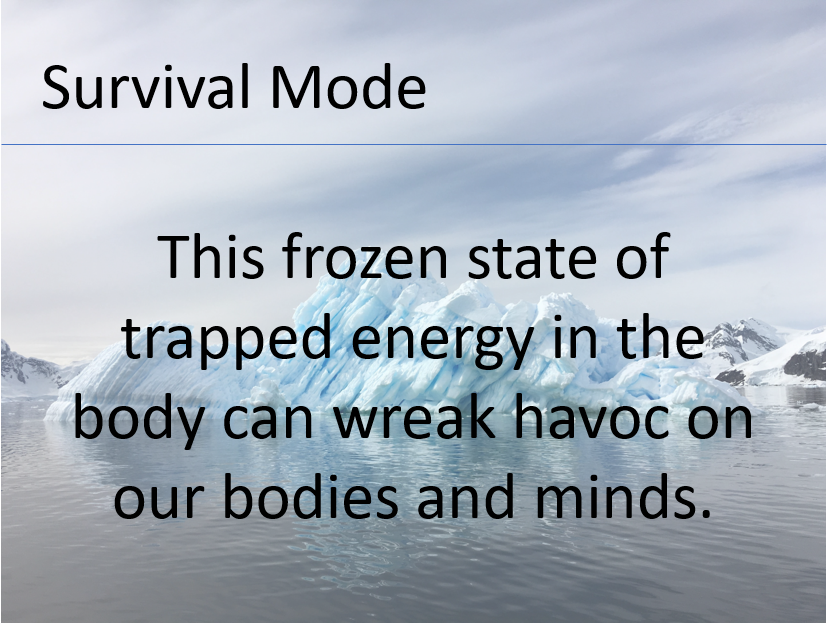Survival Mode Frozen State