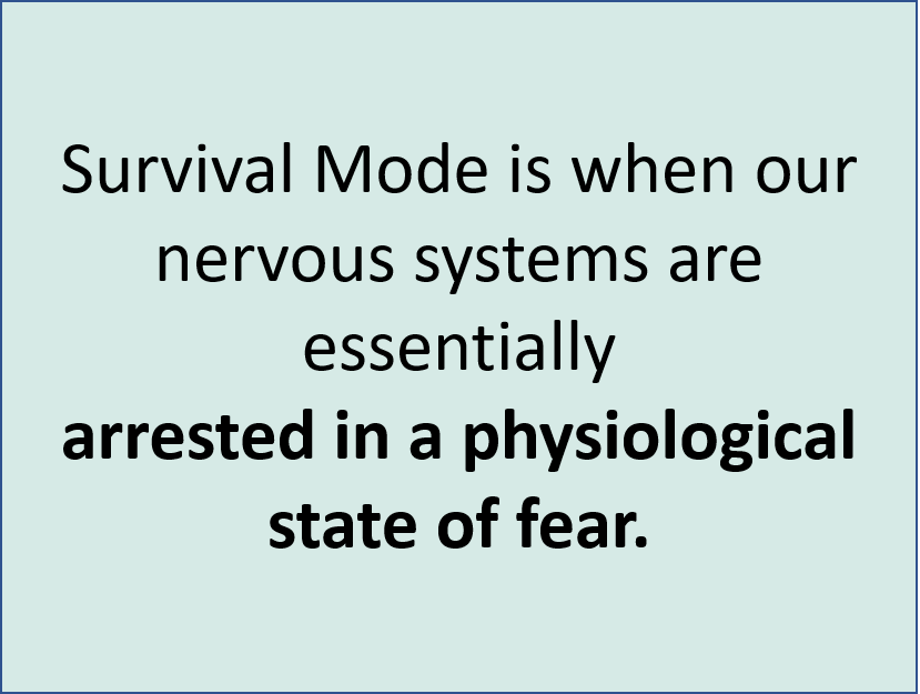 Survival Mode State of Fear